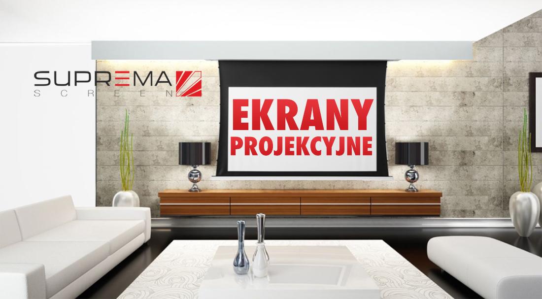 Artykuł HDTVPolska: Kino domowe z projektorem? Dobry ekran projekcyjny to kluczowy element! Sprawdzamy historię i ofertę polskiej firmy SUPREMA POLSKA